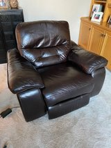 Recliner | All leather, power Recliner in Westmont, Illinois