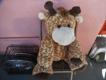 Huge  cuddly Giraffe toy in Yucca Valley, California