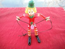 CLOWN glass piece made by MURANO, Italy in Yucca Valley, California