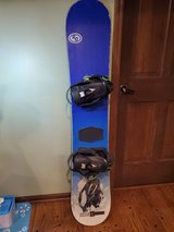 "Snowboard - Never Summer ""DIRECTIONAL"" Model with Drake Bindings 154 CM in Westmont, Illinois"