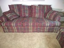 Sleeper sofa and matching love seat in Plainfield, Illinois