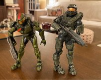 Halo Figures in Aurora, Illinois
