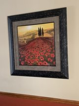 Framed Landscape Print in Plainfield, Illinois