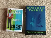 Bill Cosby and a Robert Parker Books in Camp Lejeune, North Carolina