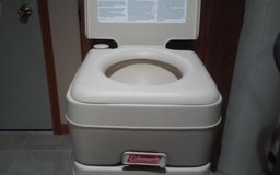 COLEMAN CAMPING PORTABLE TOLIET in Naperville, Illinois