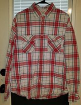 Men's plaid Aeropostale long sleeve. Large in Fort Campbell, Kentucky