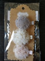 Mud pie baby hair clips. 3 piece setud9 in Fort Campbell, Kentucky
