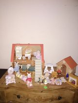 Vintage 1985 Sylvianian family house and extras in Naperville, Illinois