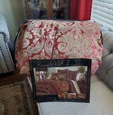 7-PC Jacquard Queen Bedding-C in Fort Campbell, Kentucky