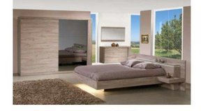 United Furniture - US Size-Calif King-Bed Set Without Wardrobe $1760 in Wiesbaden, GE