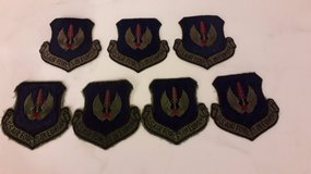 US Air Force in Europe patches (7) in Ramstein, Germany