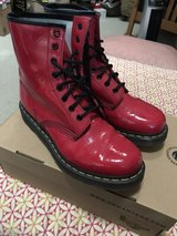 Doc Marten 1460 W Size 9 Red Rouge Boots in St. Charles, Illinois