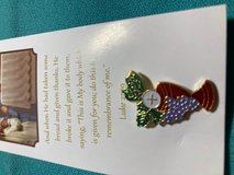 First Communion Prayer Card in Color with Tack Pin in Full Color - removed and wear. FREE with p... in Kingwood, Texas
