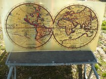 Metal Map in Fort Campbell, Kentucky