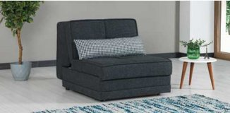 """United Furniture - Twin Size Sofabed """"Sleep Max Single"""" with Storage Box including delivery in Grafenwoehr, GE"""