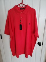 Red Polo Shirt - NEW in Camp Lejeune, North Carolina
