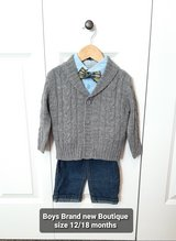 Baby boys size 12/18 months brand new Boutique outfit in Morris, Illinois