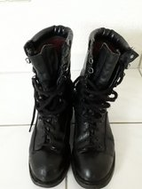 MATTERHORN Black Leather Thinsulate Goretex Combat Boots in Ramstein, Germany
