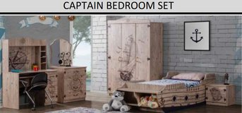 United Furniture - Captain -Ship Bed Set without Wardrobe with mattress and delivery in Wiesbaden, GE