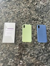 Two IPhone X (10) Protective Cases+Screen Protector in Joliet, Illinois