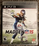 NFL Madden 15, Playstation PS3, Rated E in Fort Campbell, Kentucky