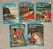 Vintage 2002 Set of 5 The Hardy Boys Hard Cover Books 2-6 in Morris, Illinois