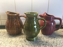 3 antique french jugs stamped in Ramstein, Germany