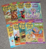 Set of 8 Highlights High Five Kids Learning Magazines in Morris, Illinois