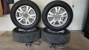 5 Lug Tire & Wheel Package--For Sale or Trade in Alamogordo, New Mexico
