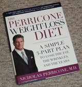 The Perricone Weight-Loss Diet Hard Cover Book w Dust Jacket in Bolingbrook, Illinois