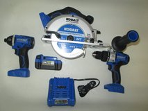 Kobalt Impact, Drill, And Saw Set In Great Shape in Alamogordo, New Mexico
