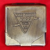 L.A. KYQQ radio station cigarette case in Okinawa, Japan