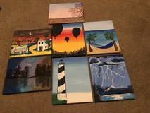 Paintings for home decor in Lackland AFB, Texas