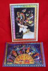 American greeting cards (2) by Laurel Bunch, new in Okinawa, Japan