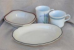American pottery set (4 pieces) in Okinawa, Japan