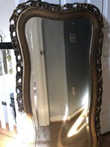 Nice wooden mirror in Bolling AFB, DC