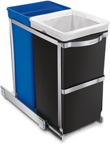 SimpleHuman Dual Compartment Under Counter Trash Bin - New! in Naperville, Illinois