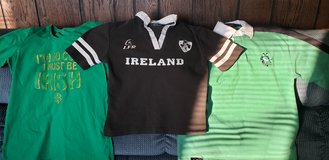 St. Patrick's Day Ireland Three Shirts 12/14 and Jr Medium See All Pix in Naperville, Illinois