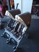 Double foldable stroller in Nellis AFB, Nevada
