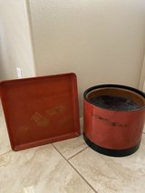 Vintage Japanese lacquerware Tray & Hibachi in Honolulu, Hawaii