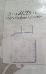 King size duvet cover (NEW) in Stuttgart, GE