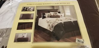 7 Piece Embroidered Comforter Set in 29 Palms, California