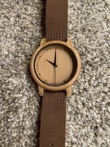 Unique bamboo watch in Naperville, Illinois