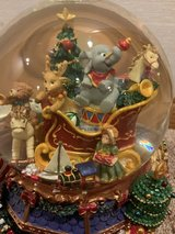 Large Christmas Musical Waterglobe with Revolving Base/Light in Naperville, Illinois