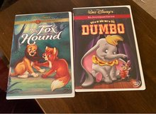 The Fox & the Hound/Dumbo DVDs in Naperville, Illinois