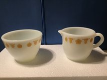 Small creamer and sugar bowl set in Fort Campbell, Kentucky