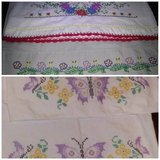 embroidered pillow cases in Spring, Texas