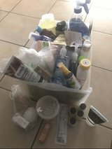 Bin Full of Lotions , shower stuff , Hair styling products, shampoos in Stuttgart, GE