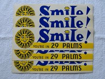 Vintage 29 Palms Bumper Stickers in 29 Palms, California