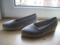 Grey Suede Moccasin (NEW) in Ramstein, Germany